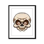 The Skull Framed Panel Print