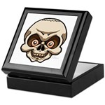 The Skull Keepsake Box
