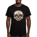 The Skull Men's Fitted T-Shirt (dark)