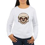 The Skull Women's Long Sleeve T-Shirt