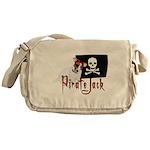 Pirate Jack Russell Messenger Bag