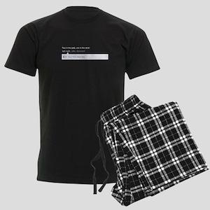 Facebook Shocker Men's Dark Pajamas