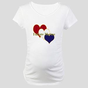 Future Marine Maternity T-Shirt