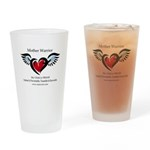 Autism Mother Warrior; Drinking Glass