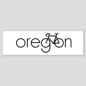 Bike Oregon Sticker (Bumper)