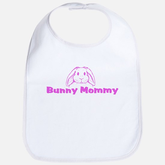 Bunny Mommy Bib