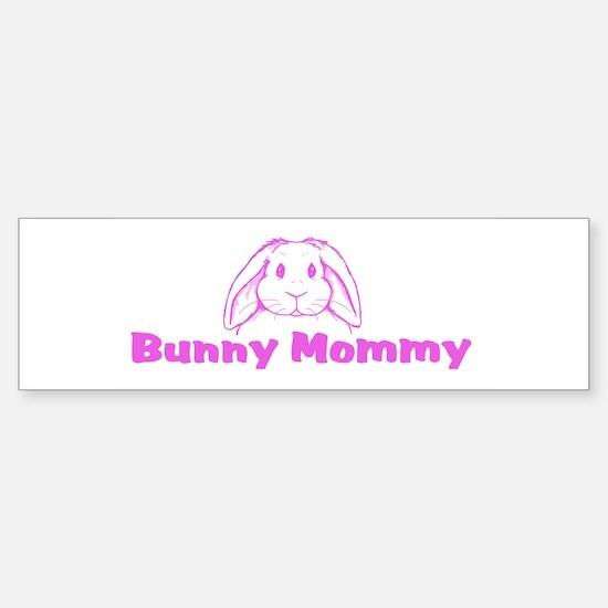 Bunny Mommy Bumper Bumper Bumper Sticker