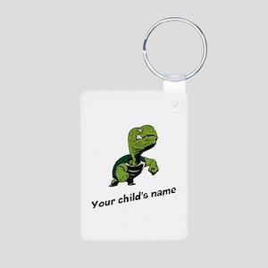 Turtle Personalized Aluminum Photo Keychain