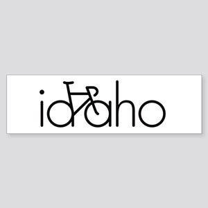 Bike Idaho Sticker (Bumper)