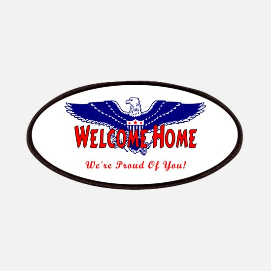 Military Welcome Home Patches
