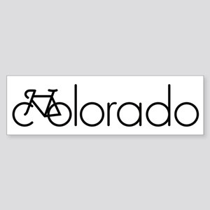 Bike Colorado Sticker (Bumper)
