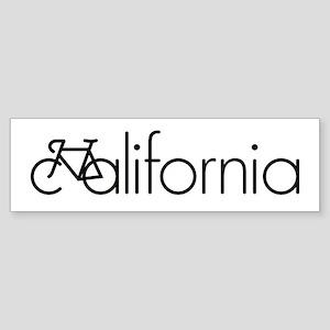 Bike California Sticker (Bumper)