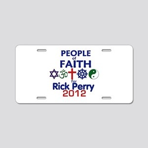 Perry Faith 2012 Aluminum License Plate