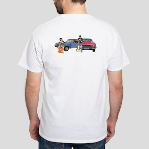 Crosstown Traffic White T-Shirt
