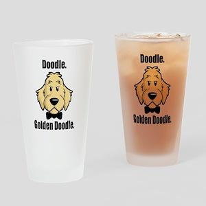 Doodle Bond Drinking Glass