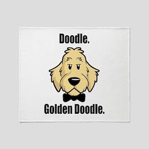 Doodle Bond Throw Blanket