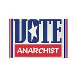 VOTE anarchist Rectangle Magnet (100 pack)