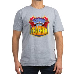 Super Teacher Men's Fitted T-Shirt (dark)