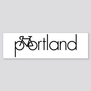 Bike Portland Sticker (Bumper)
