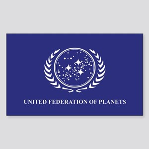 Federation Flag Sticker