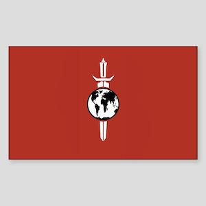 Mirror Universe Flag Sticker