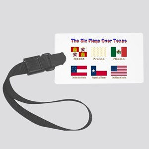 The Six Flags Over Texas Luggage Tag