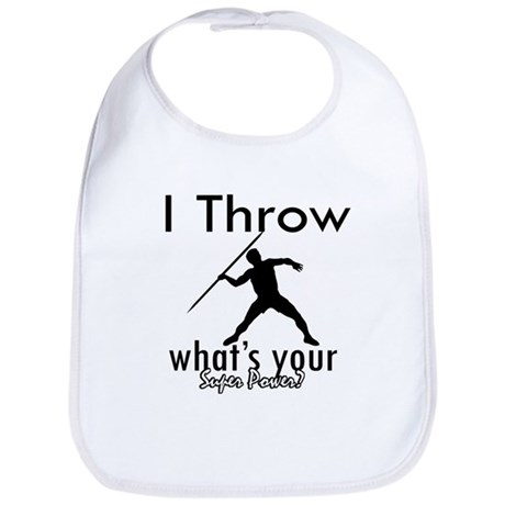 I Throw Bib