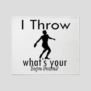 I Throw Throw Blanket