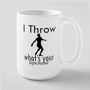 I Throw Large Mug