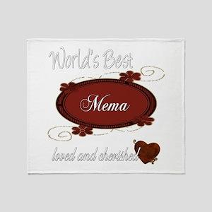 Cherished Mema Throw Blanket