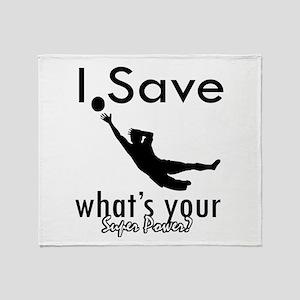 I Save Throw Blanket