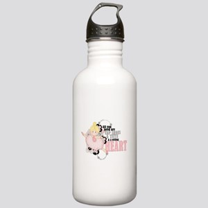Willing Heart Stainless Water Bottle 1.0L