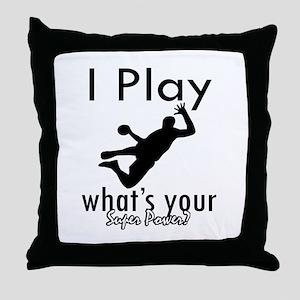I Play Throw Pillow