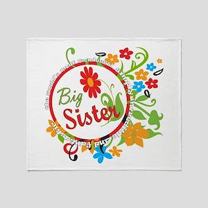 Wonderful Big Sister Throw Blanket