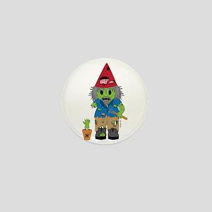 Zombie Gnome Mini Button