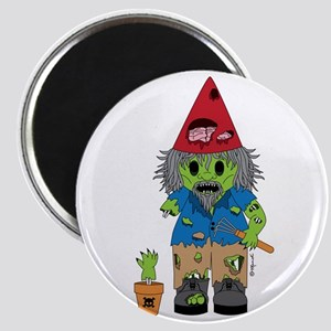 Zombie Gnome Magnet