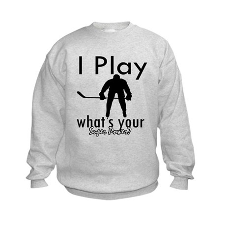 I Play Kids Sweatshirt