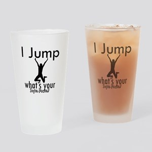 I Jump Drinking Glass