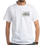 Rogers Locomotive Works 1870 White T-Shirt