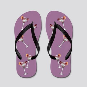 Funny Witches Cocktail Flip Flops