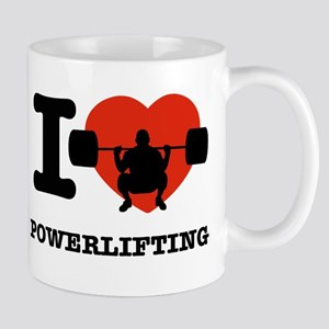 I love Power lifting Mug
