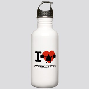 I love Power lifting Stainless Water Bottle 1.0L