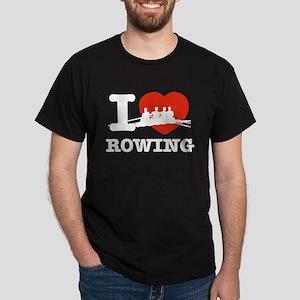 I love Rowing Dark T-Shirt