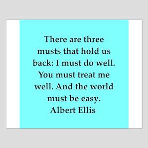 Albert Ellis quote Small Poster