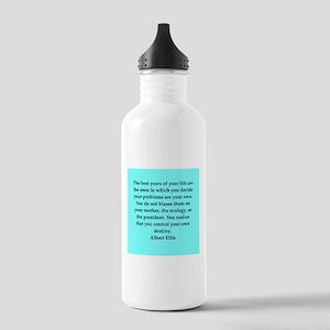 Albert Ellis quote Stainless Water Bottle 1.0L