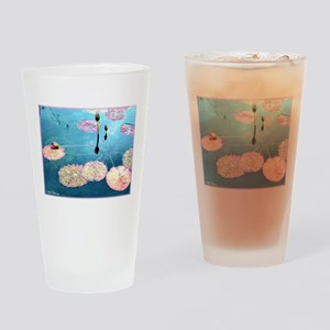 Water Lilies, Photo Drinking Glass