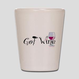 Got Wine Shot Glass