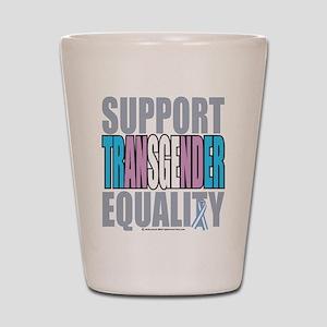Support Transgender Equality Shot Glass