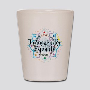 Transgender Lotus Shot Glass