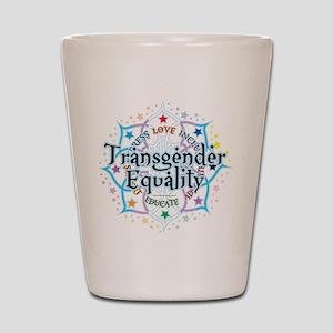 Transgender Lotus Shot Glass